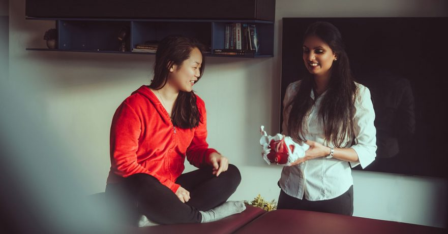 Incontinence during pregnancy and postpartum - Q&A with a Physical Therapist boober blog post featured image